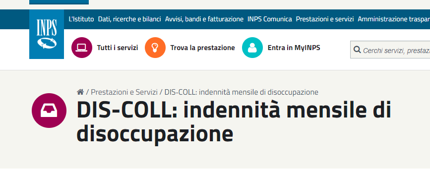 dis-coll INPS